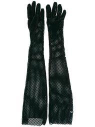 длинные сетчатые перчатки Mm6 Maison Margiela