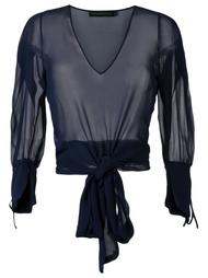 sheer blouse Giuliana Romanno