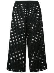вязаные укороченные брюки Arthur Arbesser