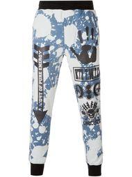 спортивные брюки с абстрактным принтом KTZ
