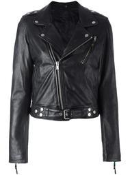 classic biker jacket  Blk Dnm