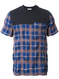 клетчатая футболка Tim Coppens