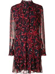 bow print dress Piamita