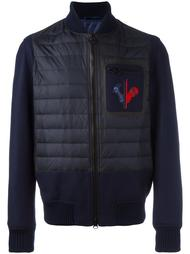 padded panel bomber jacket Rossignol
