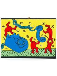 клатч Olympia Le-Tan x Keith Haring Olympia Le-Tan
