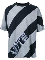 футболка с диагональными полосками Juun.J