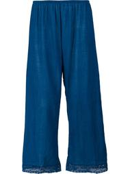 lace trim cropped trousers Dosa