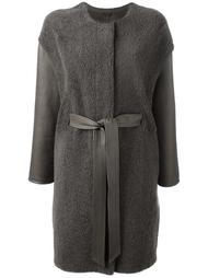 belted  coat  Liska