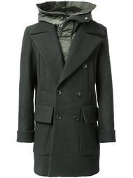 двубортное дутое пальто Juun.J