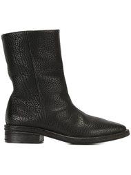 ботинки с эффектом змеиной кожи Marsèll