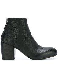 ботинки по щиколотку на массивном каблуке  Marsèll