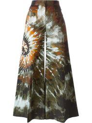 брюки палаццо с абстрактным принтом   Valentino