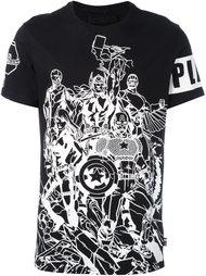 футболка 'Power Tem' Philipp Plein