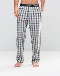 Тканые штаны для дома классического кроя Calvin Klein - Черный