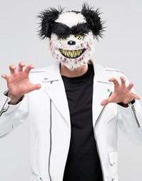 Маска на Хэллоуин в виде головы плюшевого медведя Charles - Мульти Gifts