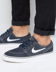 Nike SB Zoom Stefan Janoski Trainers In Blue 333824-419 - Синий