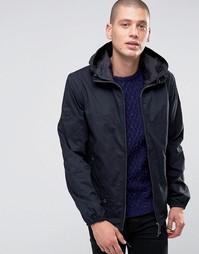 Черная куртка с капюшоном Pretty Green - Черный