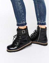 Ботинки в походном стиле с подошвой EVA от Park Lane - Черный
