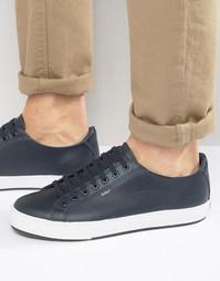 Кожаные кроссовки Kickers Tovni - Темно-синий