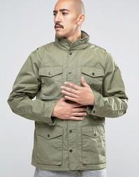 Зеленая куртка Fjallraven Raven - Зеленый