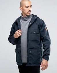 Темно-синяя куртка Fjallraven Greenland - Темно-синий