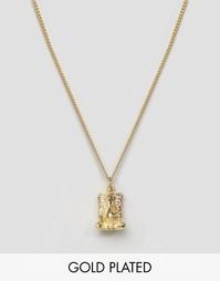 Позолоченное ожерелье с Ганешей Lovebullets - Золотой