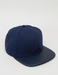 Синяя премиум-кепка Nike Jordan 4 811460-451 - Синий