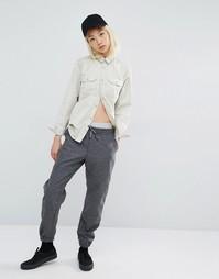 Штаны из шерстяного трикотажа Carhartt WIP Parsons - Серый