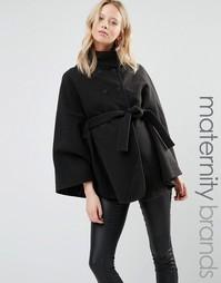 Куртка-накидка для беременных Mamalicous - Черный Mama.Licious