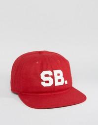 Красная кепка Nike SB Infield Pro 806050-677 - Красный