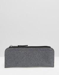 Серый фетровый пенал - Серый Gifts
