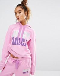 Пуловер для дома со светоотражающей отделкой Juicy Couture - Фиолетовый