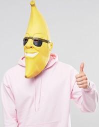 Маска для Хэллоуина в виде банана - Мульти Gifts