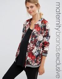 Куртка-пилот с цветочным принтом Bluebelle Maternity - Мульти