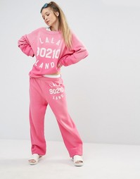 Джоггеры Wildfox Lala Land - Розовый