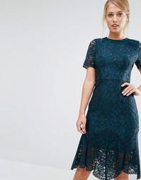 Кружевное платье Coast Linera - Зеленый