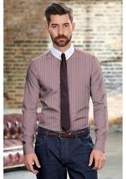 Комплект: сорочка + галстук + булавка для воротника Next