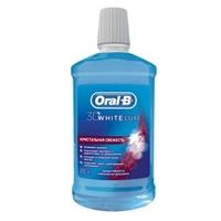 ORAL-B Ополаскиватель полости рта 3D White Luxe 250 мл