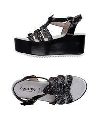 Сандалии Couture