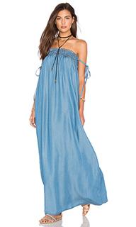 Облегающее макси платье - Capulet