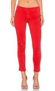 Укороченные джинсы looker ankle - MOTHER