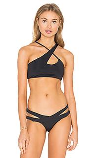 Топик бикини с перекрестными шлейками - Donna Mizani