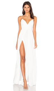 Макси платье private beach - THE JETSET DIARIES