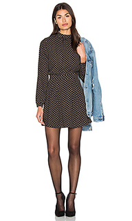 High neck long sleeve dress - Bishop + Young