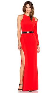Вечернее платье asymmetrical embellished - Halston Heritage