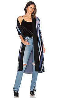 Compass knit long cardigan - Mara Hoffman