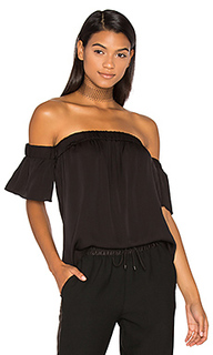 Silk bare shoulder top - MILLY