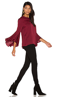 Silk bell sleeve top - MILLY