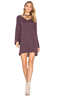 Bell sleeve strappy mini dress - Chaser