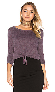 Tie front long sleeve tee - Chaser